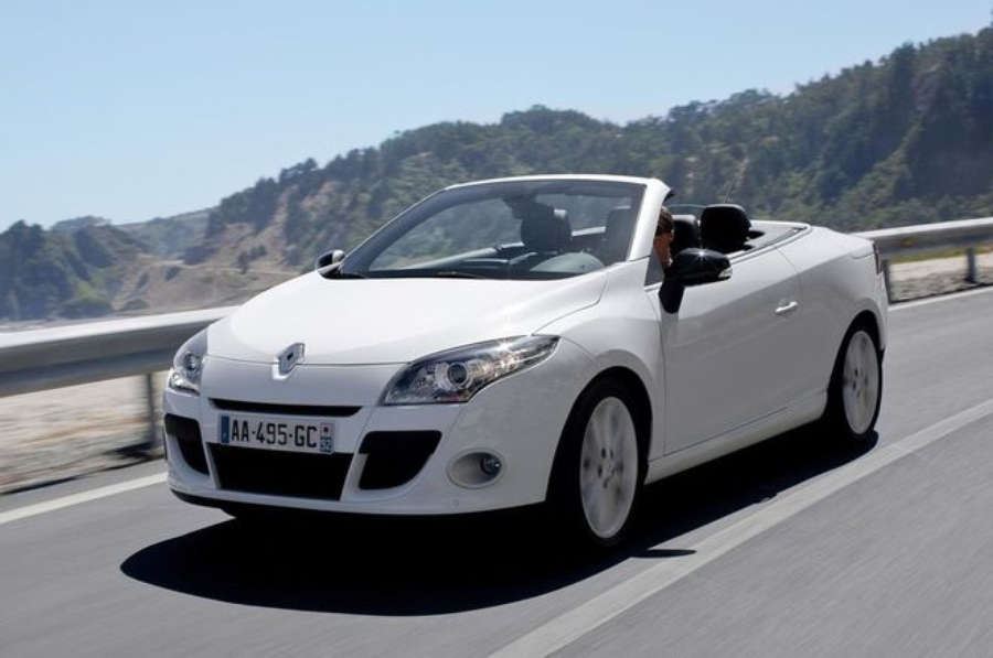 Renault Megane Coupe Cabriolet — экстерьер