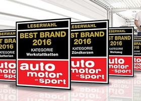 Bosch признали лучшим брендом 2016 года в восьми номинациях