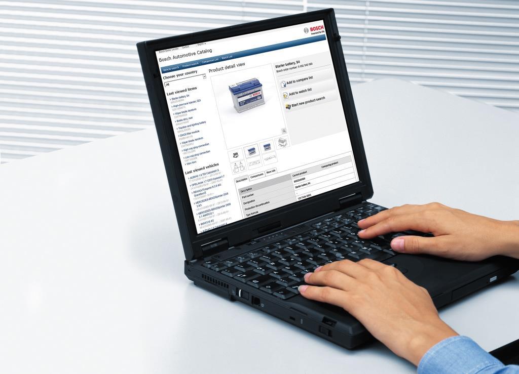В онлайн-каталоге автозапчастей Bosch eCat-online появилась возможность 360-градусного обзора товаров