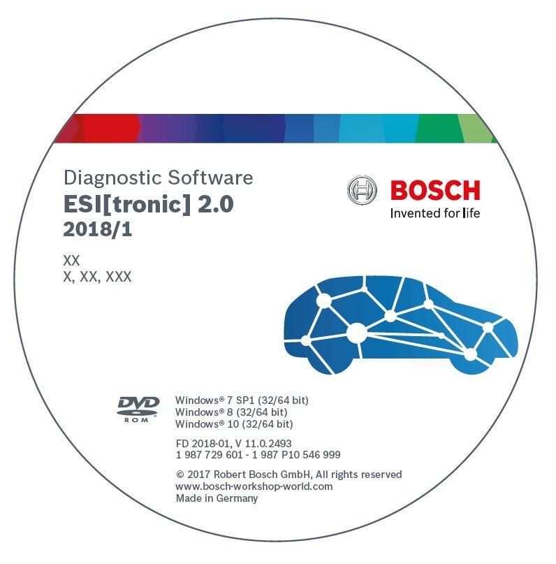 Bosch оновив програмне забезпечення ESI[tronic] 2.0