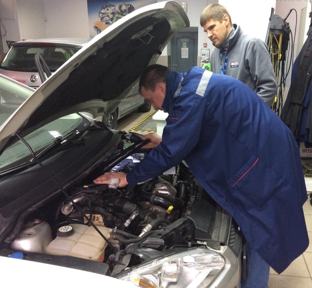 У навчальному центрі Bosch представили нову, найсучаснішу програму підготовки фахівців автосервісу