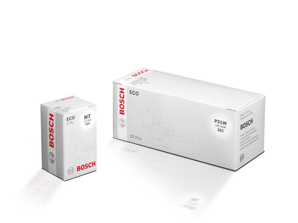 Новые автомобильные лампы Bosch ECO – качество Bosch по приятной цене