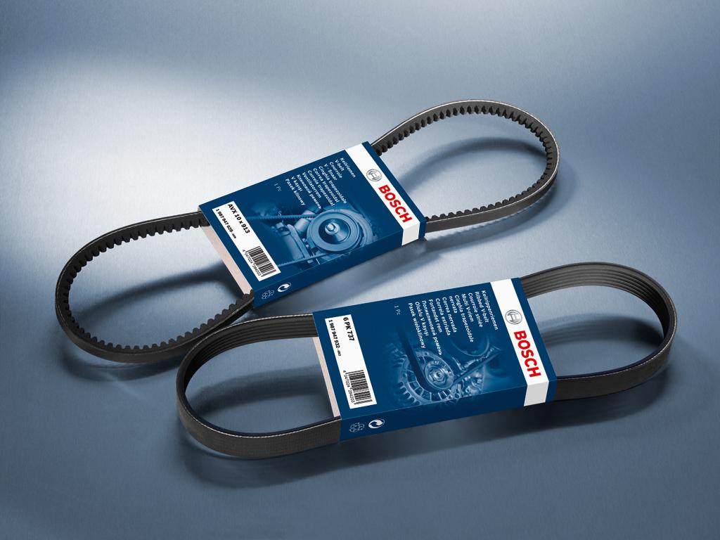 Клиновые и поликлиновые ремни: как использовать и когда заменять – опыт Bosch