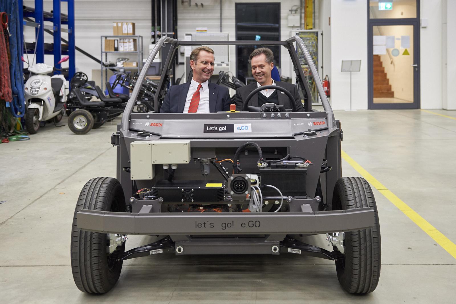 Bosch и e.GO Mobile будут вместе обслуживать электромобили и «обучать» их работе через Интернет
