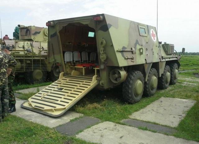 Днепропетровские инженеры создали мобильный госпиталь на базе БТРа - Цензор.НЕТ 2576