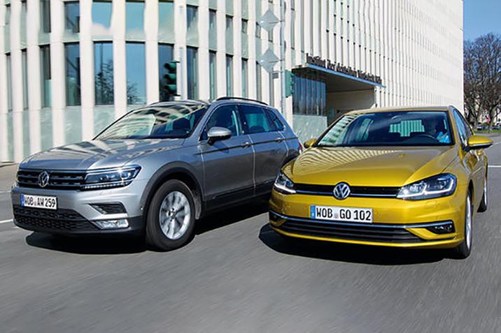 Спеціальне ціноутворення на обмежений список Volkswagen Tiguan та Golf!