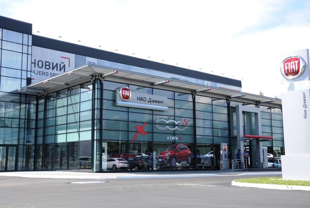 В «НИКО Диамант» скидки на автомобили Fiat до 30 000 грн. в августе